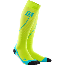 cep Pro+ 2.0 Run Socks Men lime/hawaii blue